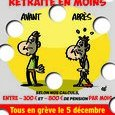 Affiche retraite points